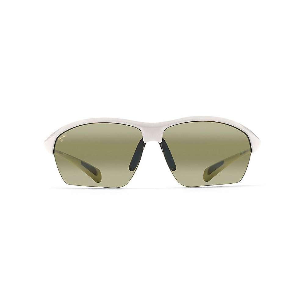 Maui Jim Stone Crushers Polarized Sunglasses - One Size - White Pearl / Maui HT
