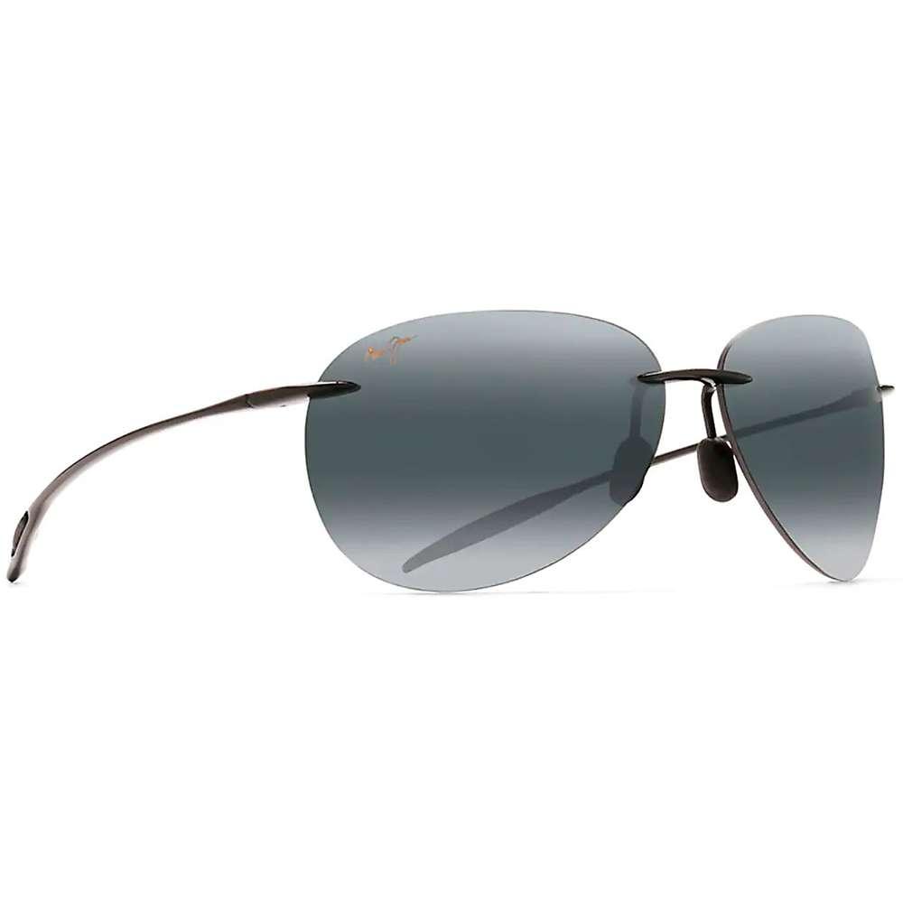 Maui Jim Sugar Beach Polarized Sunglasses - One Size - Gloss Black / Neutral Grey