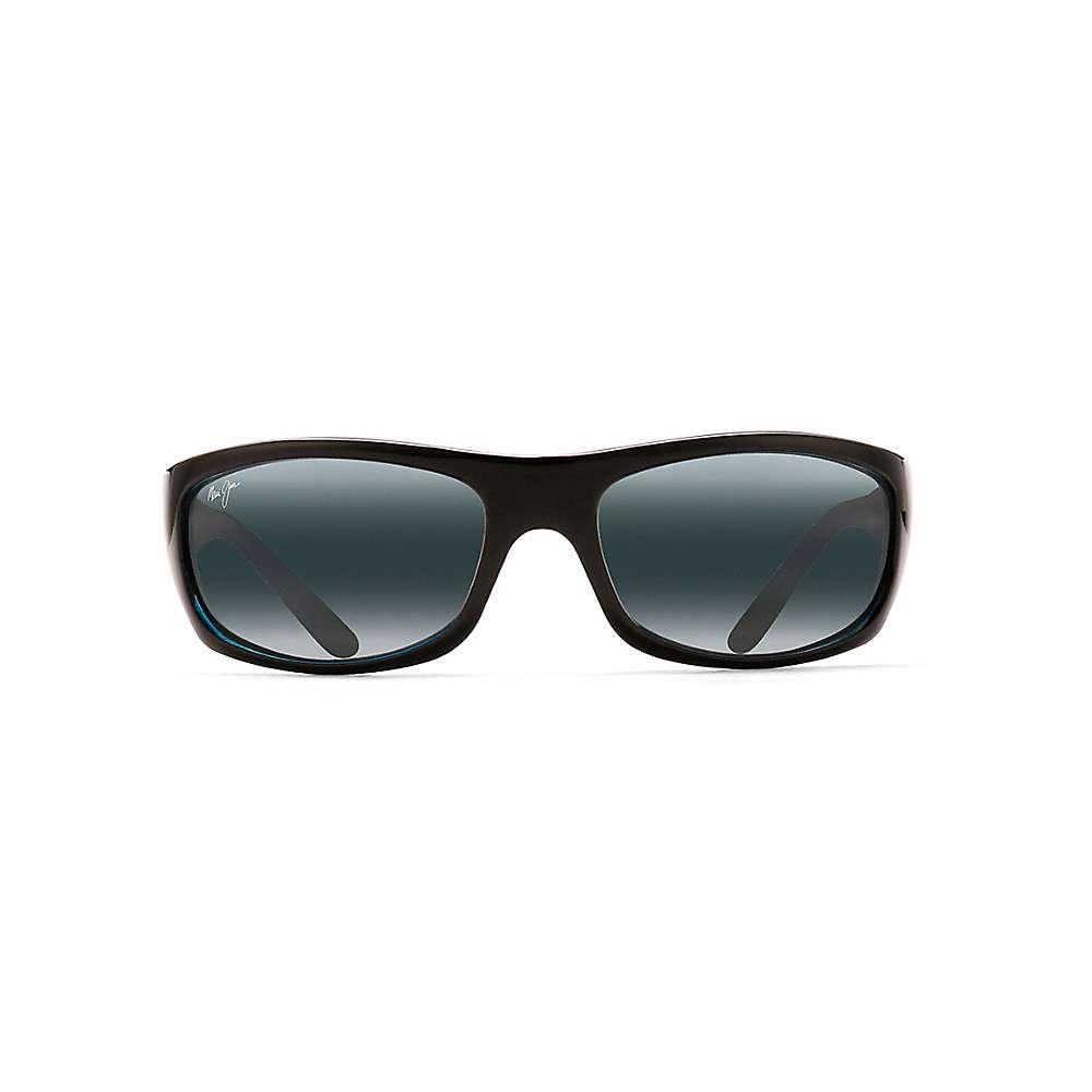 Maui Jim Surf Rider Polarized Sunglasses - One Size - Black with Blue / Neutral Grey