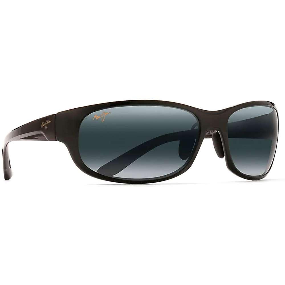 Maui Jim Twin Falls Polarized Sunglasses - One Size - Gloss Black Fade / Neutral Grey