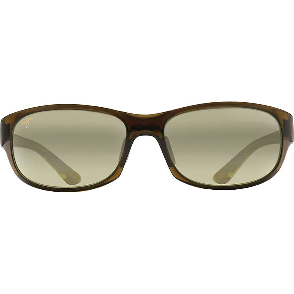 Maui Jim Twin Falls Polarized Sunglasses - One Size - Olive Fade / Maui HT