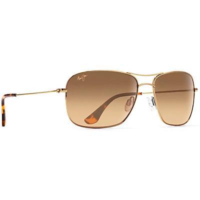 Maui Jim Wiki Wiki Polarized Sunglasses - Gold / HCL Bronze