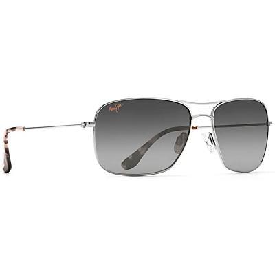Maui Jim Wiki Wiki Polarized Sunglasses - Silver / Neutral Grey