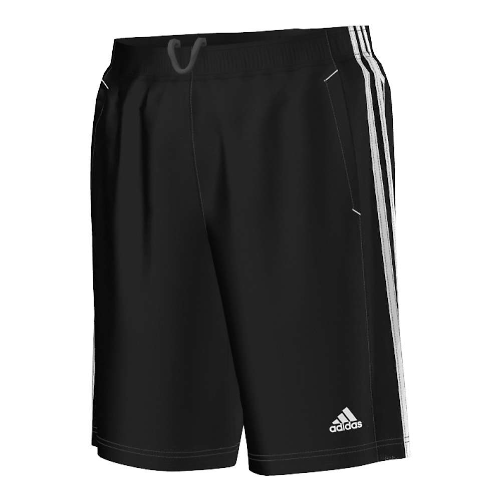 Adidas Men's Essential Short - Small - Black / White