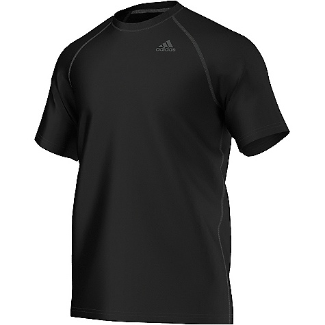 Adidas Men's Ultimate SS Tee Black / Solid Grey Adidas Men's Ultimate SS Tee - Black / Solid Grey - in stock now. FEATURES of the Adidas Women's Ultimate Short Sleeve Tight Climalite soft, lightweight fabric for superior moisture management Tight hip, tight through leg Comfortable stretch material Odor-resistant gusset, Secure waistband