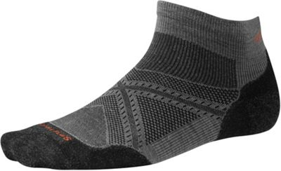 Smartwool PhD Run Light Elite Low Cut Sock - Medium - Graphite