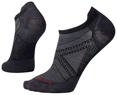 Smartwool PhD Run Ultra Light Micro Sock - XL - Black / Black