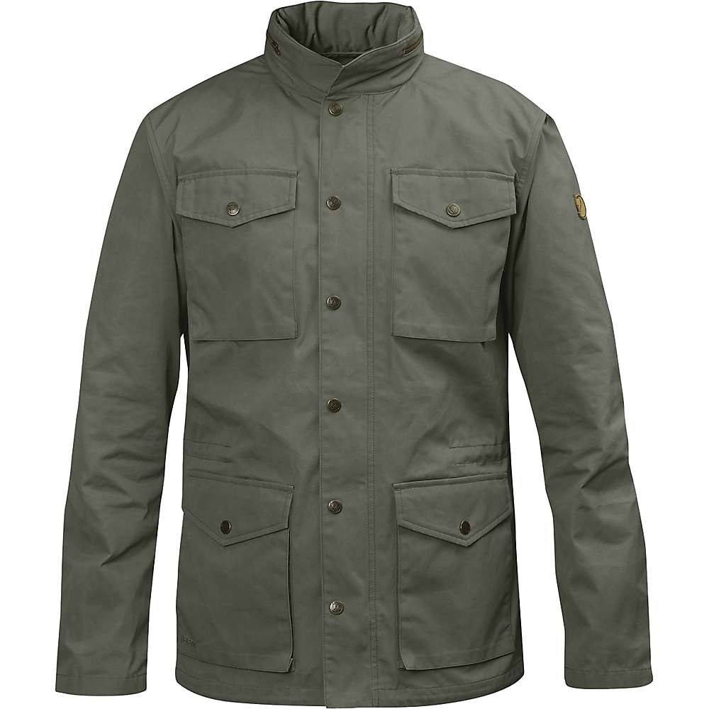 Fjallraven Men's Raven Jacket - Small - Mountain Grey