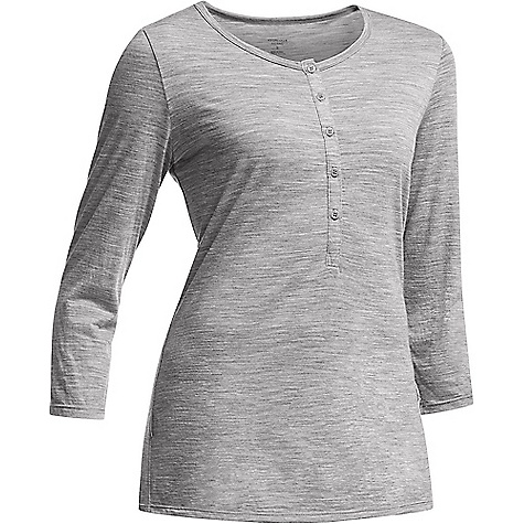 Icebreaker Tech Lite 3Q Henley Top