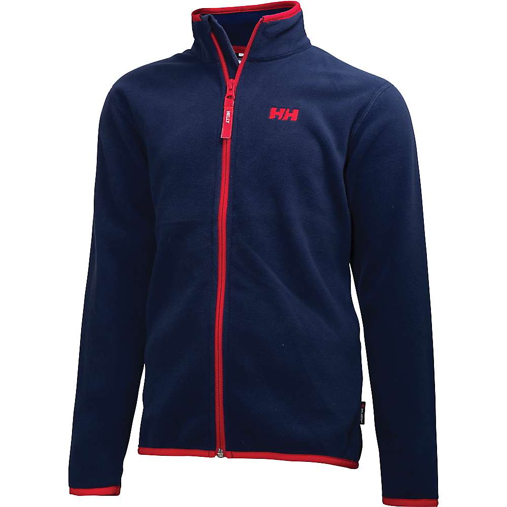 Helly Hansen Juniors' Daybreaker Fleece Jacket - 8 - Evening Blue