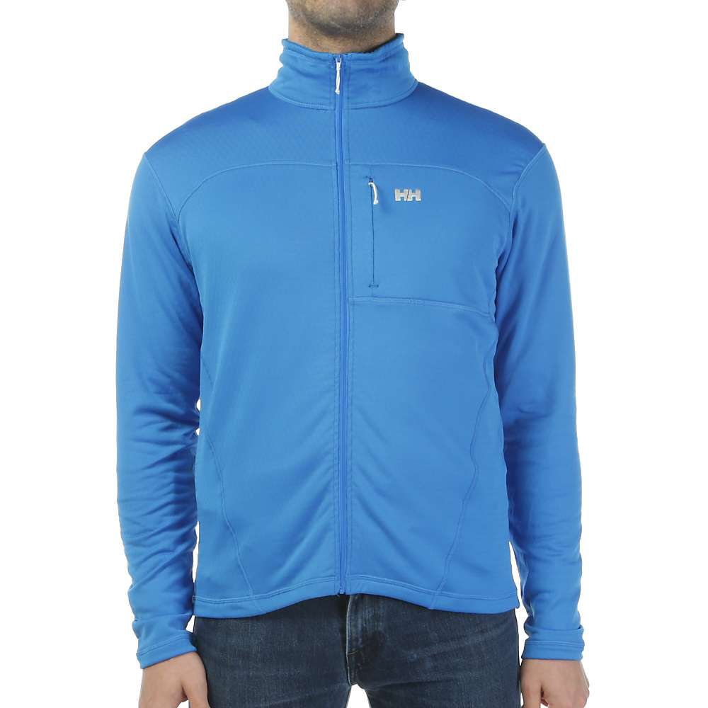 Helly Hansen Men's Vertex Stretch Midlayer Jacket - Medium - Racer Blue