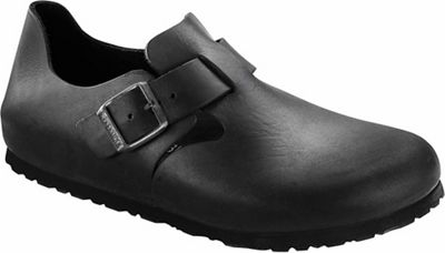 Birkenstock London Shoe - Black Oiled Leather