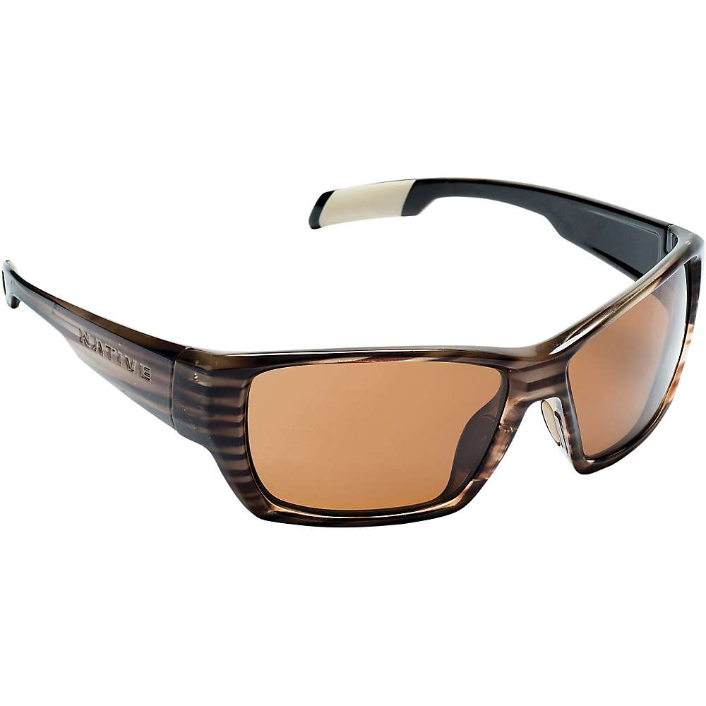 Native Ward Polarized Sunglasses - One Size - Wood / Brown