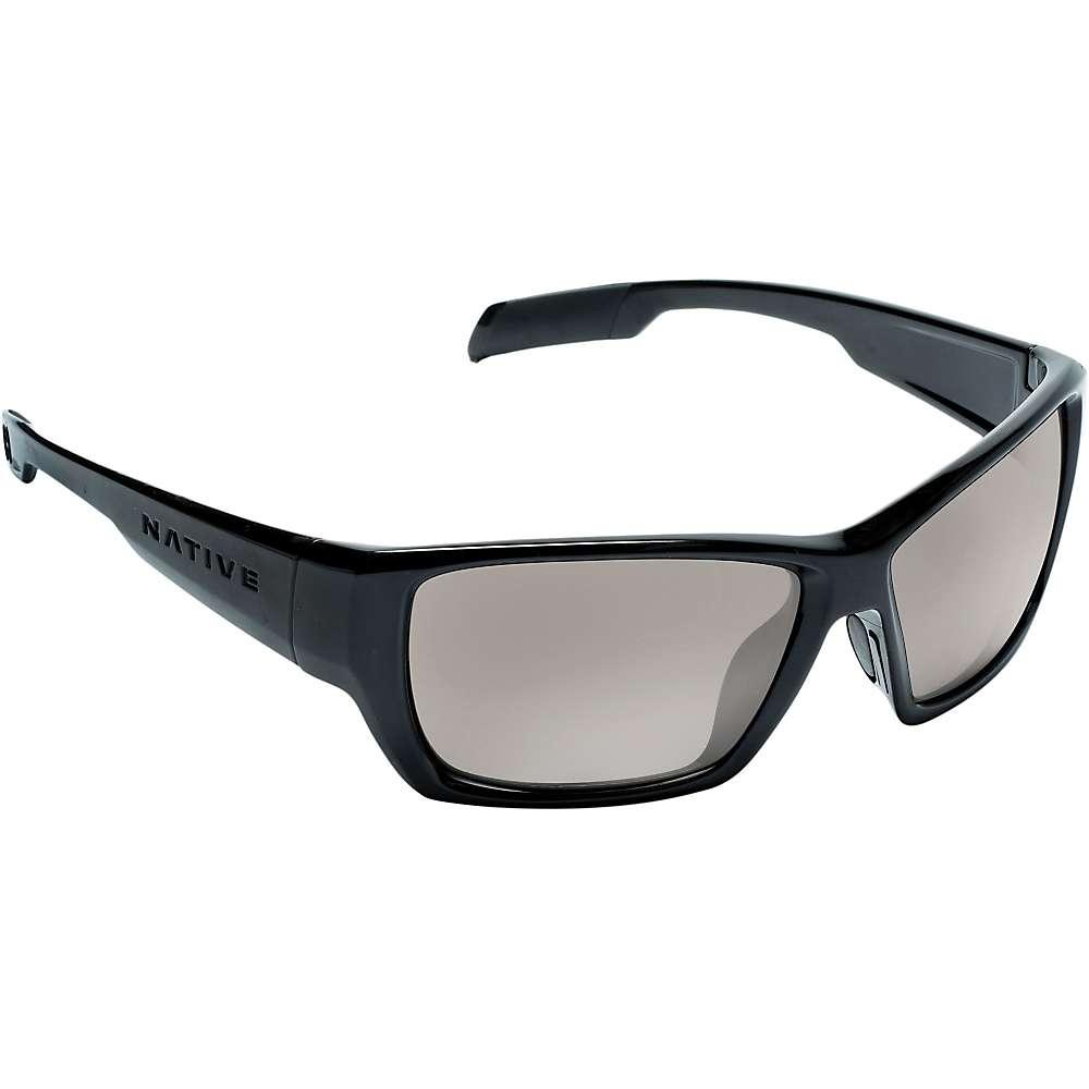 Native Ward Polarized Sunglasses - One Size - Iron / Silver Reflex