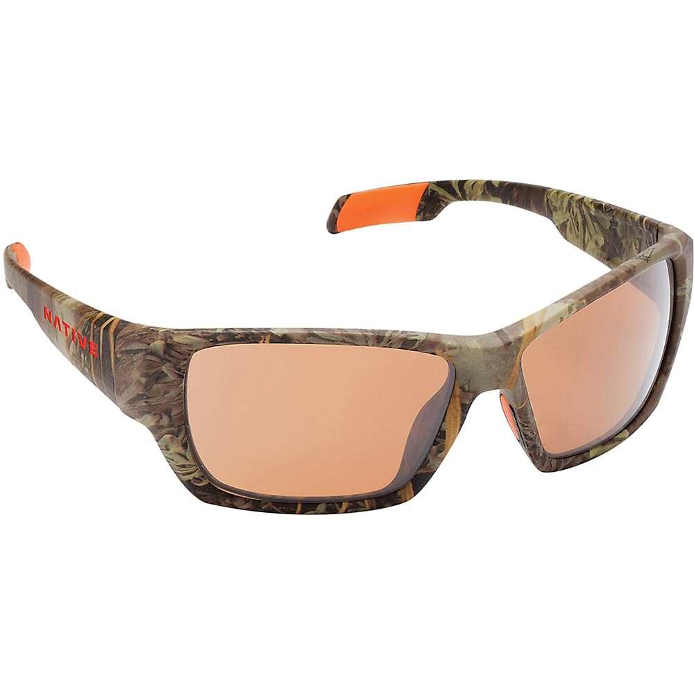 Native Ward Polarized Sunglasses - One Size - Camo MAX-1 / Brown