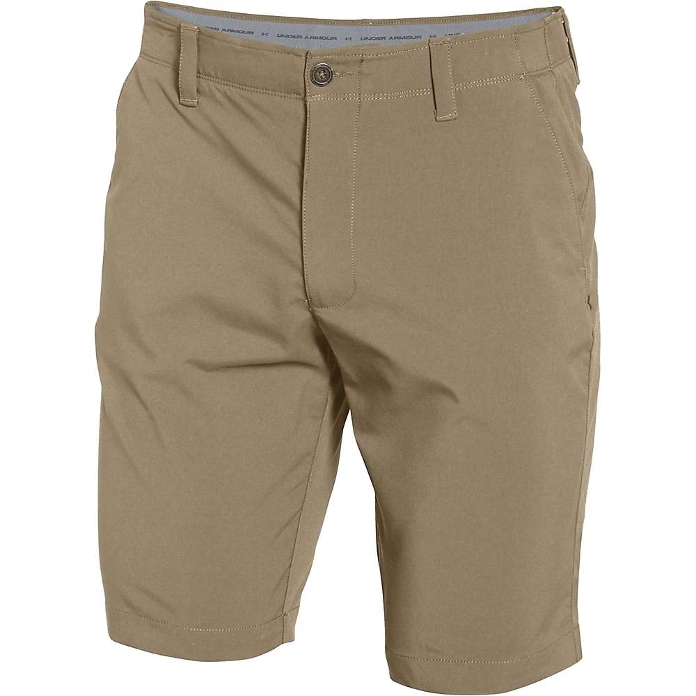 Under Armour Men's Matchplay Short - 35 - Canvas / True Gray Heather / Canvas