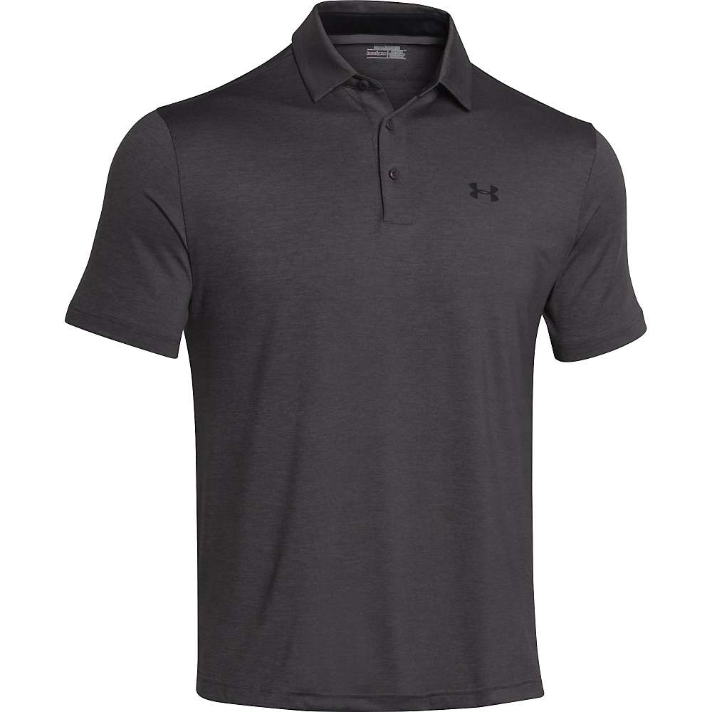 Under Armour Men's UA Playoff Polo - XL - Carbon Heather / Black