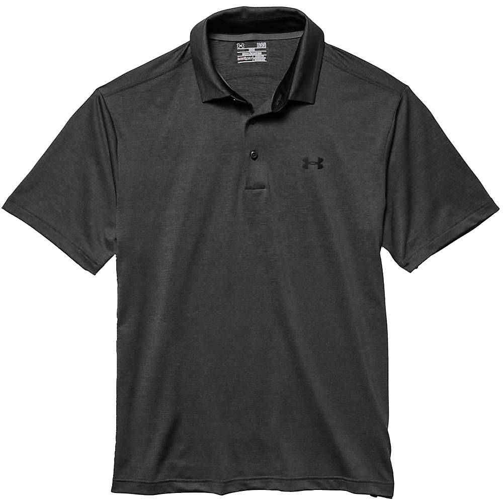 Under Armour Men's UA Playoff Polo - XL - Carbon Heather / Asphalt Heather / Black