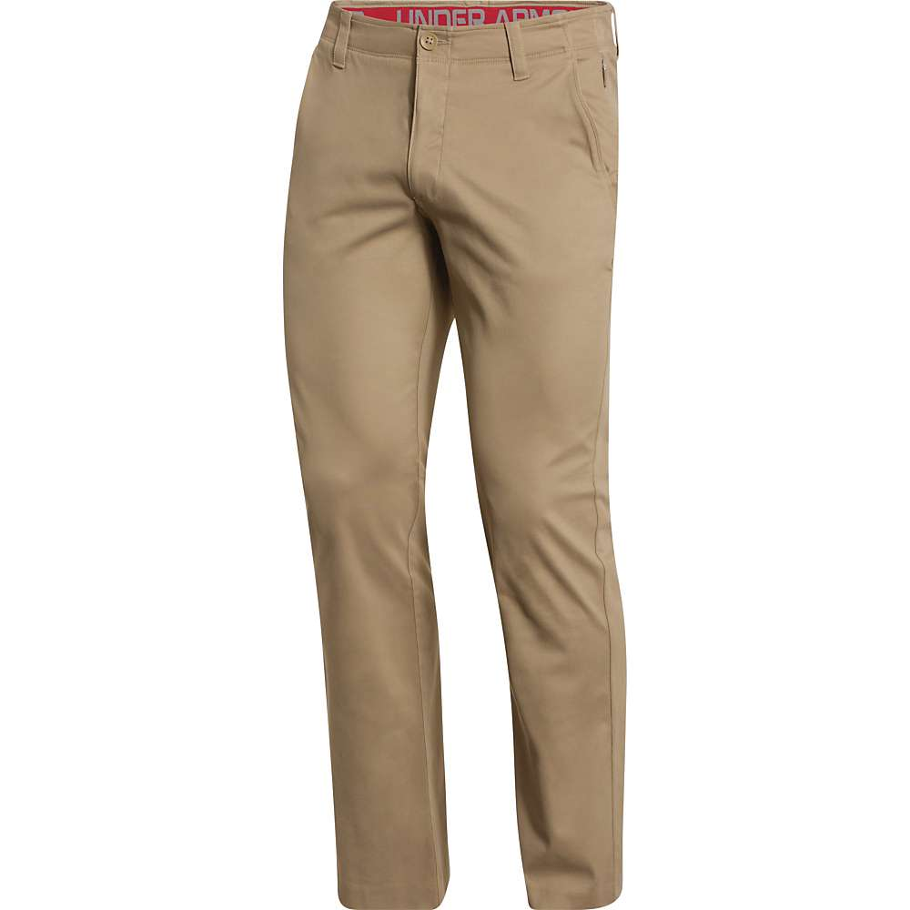 Under Armour Men's Performance Chino Straight Pant - 34x32 - Canvas / Canvas