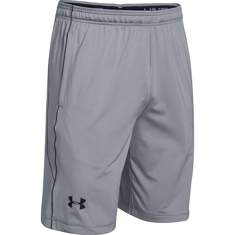 Under Armour Men's UA Raid Short - Medium - Steel / Black