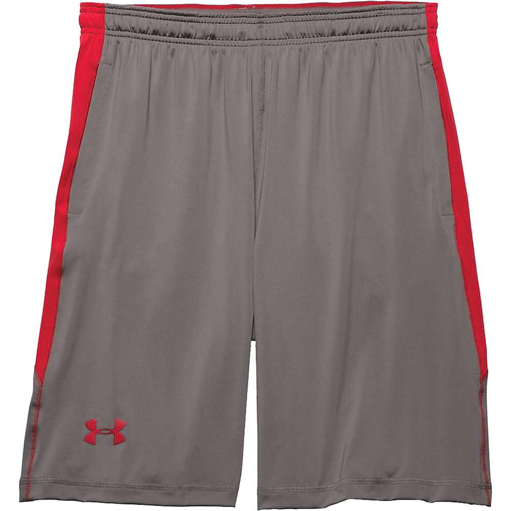 Under Armour Men's UA Raid Short - Small - Tan Stone / Red