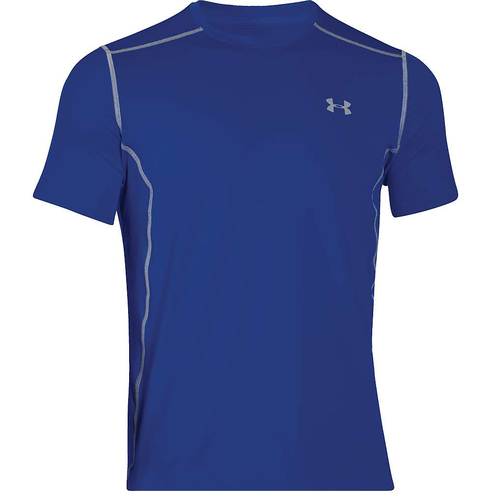 Under Armour Men's UA Raid SS Tee - Small - Royal / Royal / Steel