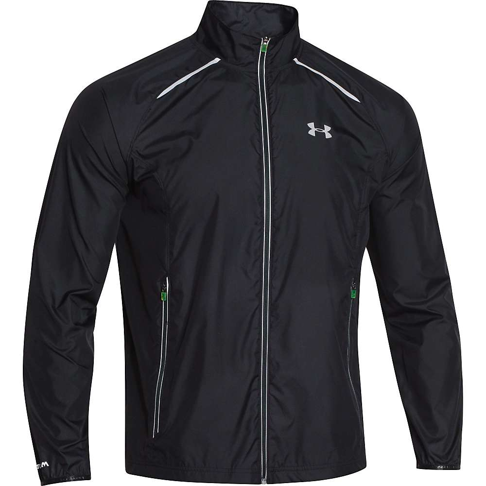 Under Armour Men's Storm Launch Run Jacket - Medium - Black / Black / Reflective