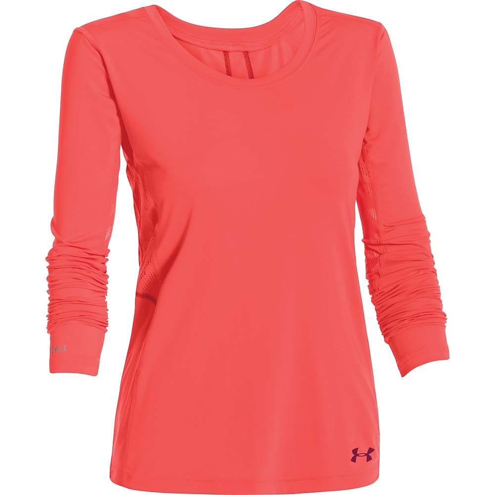 Under Armour Women's UA ArmourVent Moxey LS Top - Large - After Burn / Aubergine