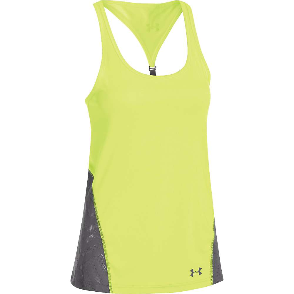Under Armour Women's UA ArmourVent Moxey Tank - Large - X-Ray / Graphite / Graphite
