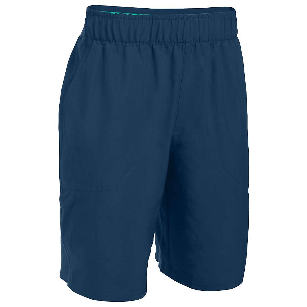 Under Armour Boys' UA Coastal Short - XL - Fire / Blackout Navy