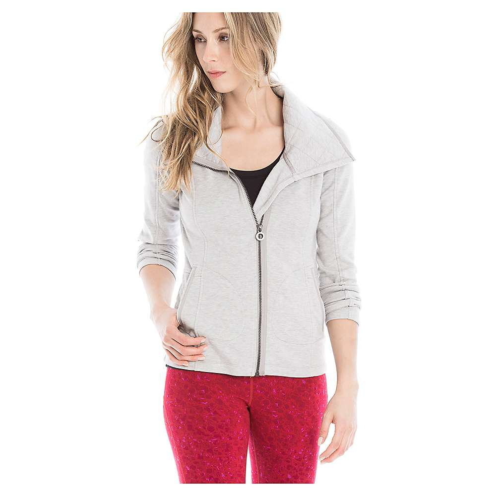 Lole Women's Essence Cardigan - Medium - Warm Grey Heather