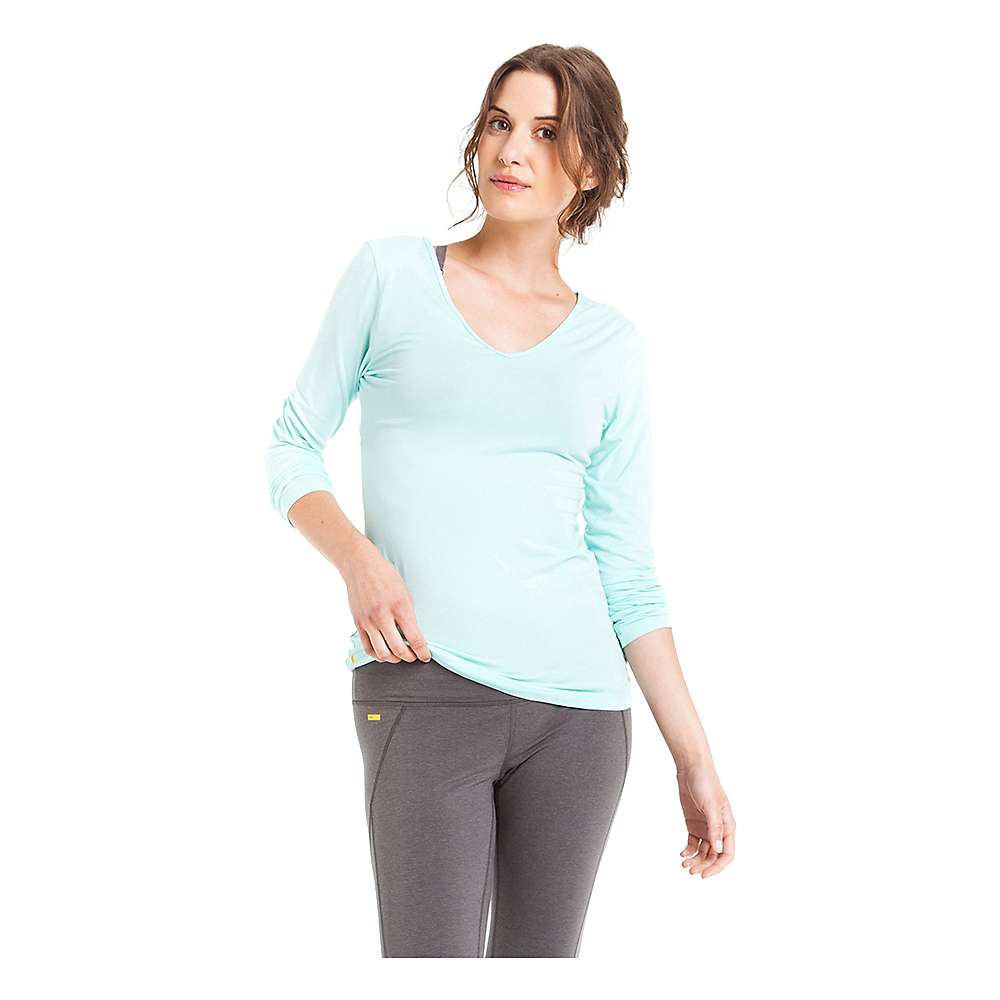 Lole Women's Kavita Top - Large - Clearly Aqua