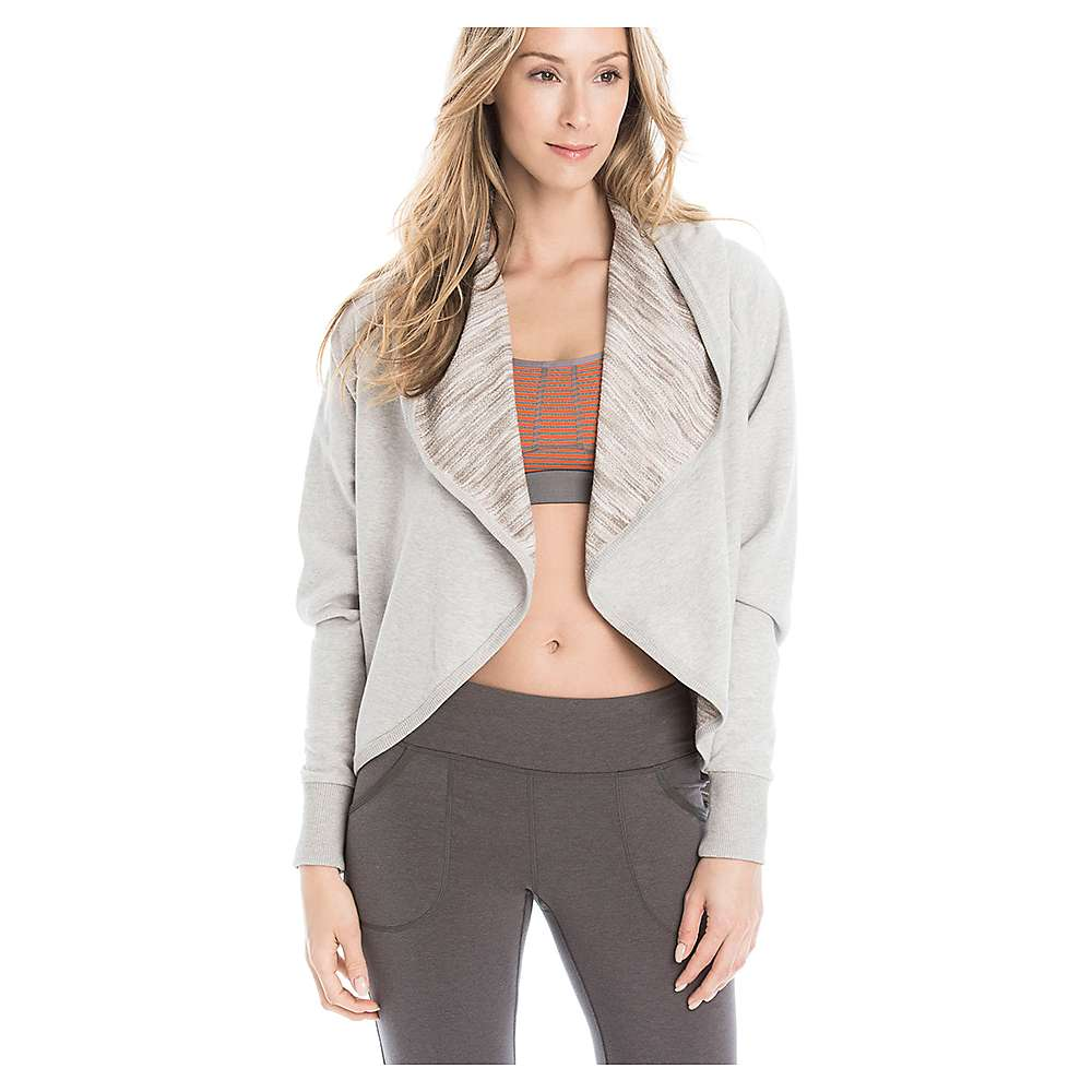 Lole Women's Ramani Top - Medium - Warm Grey Heather