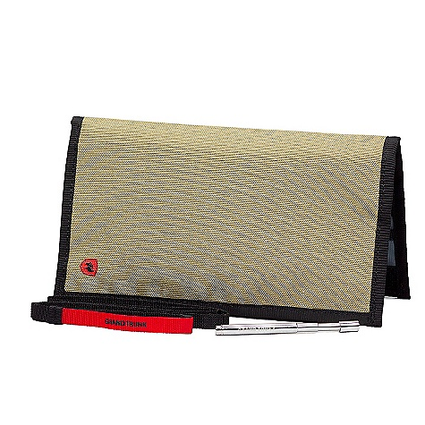 Grand Trunk Atom Passport Organizer Sahara Grand Trunk Atom Passport Organizer - Sahara - in stock now. FEATURES of the Grand Trunk Atom Passport Organizer Waterproof YKK zipper with zipper garage Slots for up to 16 credit cards RFID security Lanyard loop & laniard for added security SD card holder Travel document storage Bill section sized to hold a variety of international currencies