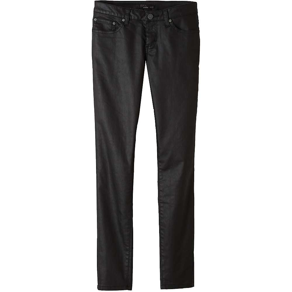 Prana Women's Jett Coated Pant - 12 - Black