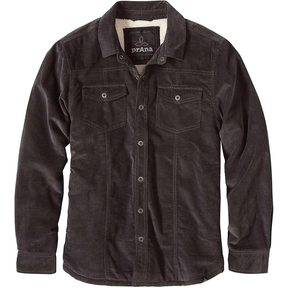 Prana Men's Gomez LS Corduroy Jacket - XL - Charcoal
