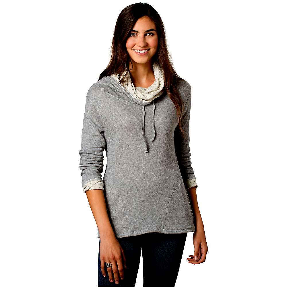 Toad & Co Women's Profundo Pullover - Medium - Heather Grey