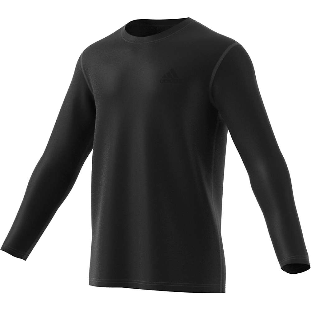 Adidas Men's Ultimate LS Tee - Small - Black