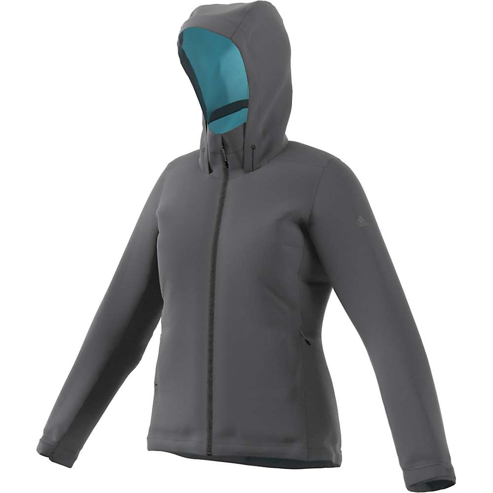 Adidas Women's Wandertag Insulated Jacket - Large - Grey Five