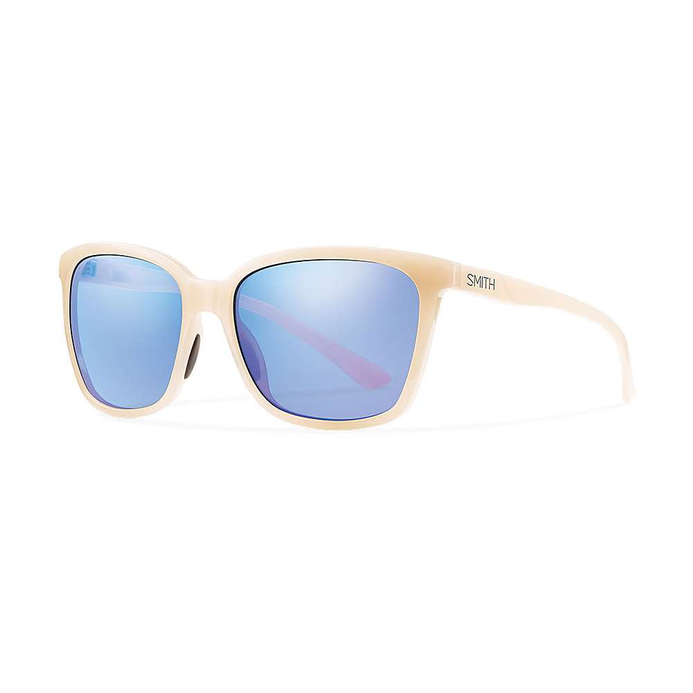 Smith Colette Sunglasses - One Size - Nude / Blue Flash Mirror