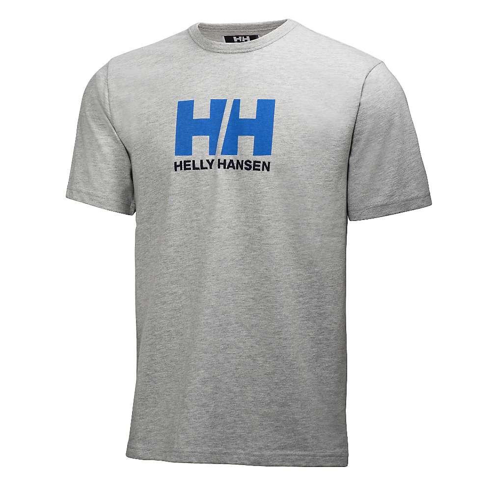 Helly Hansen Men's HH Logo Tee - Medium - Grey Melange 949