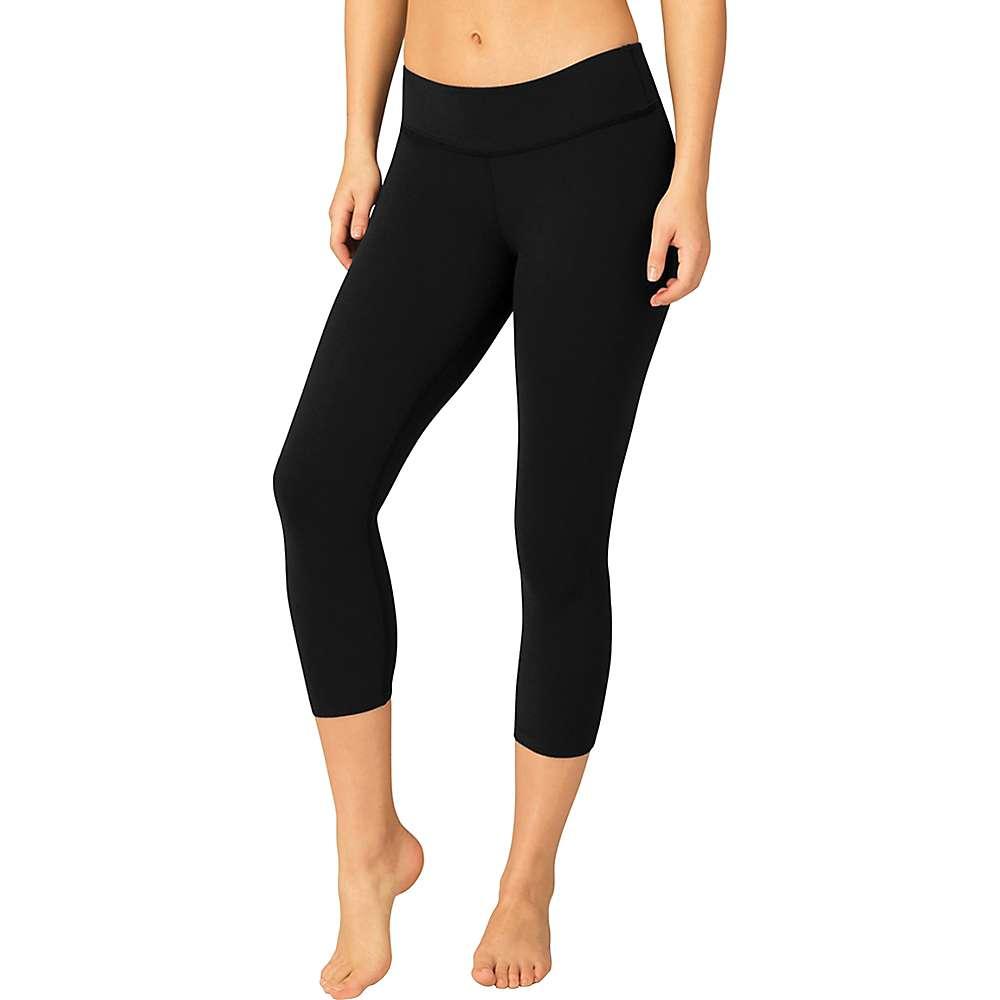 Beyond Yoga Women's Back Gathered Legging - XL - Jet Black