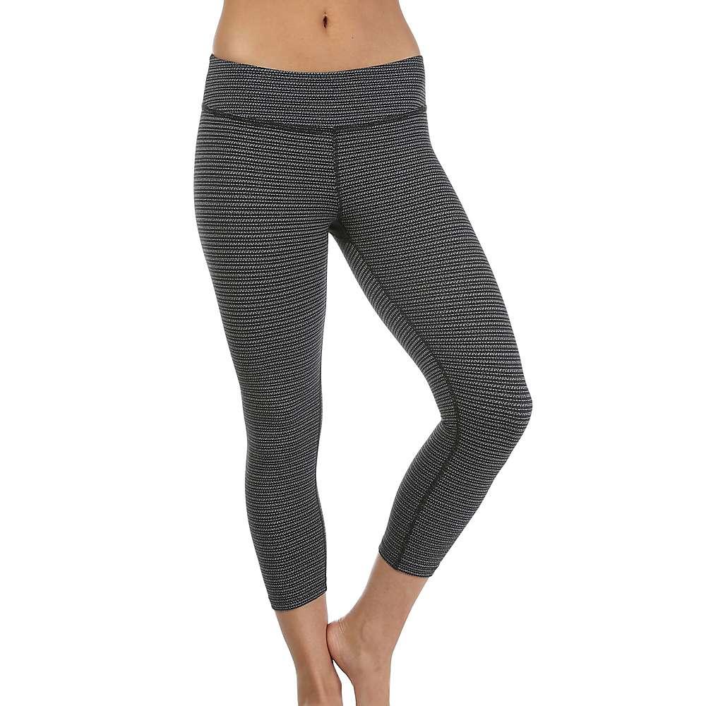 Beyond Yoga Women's Capri Legging - XS - Black / White