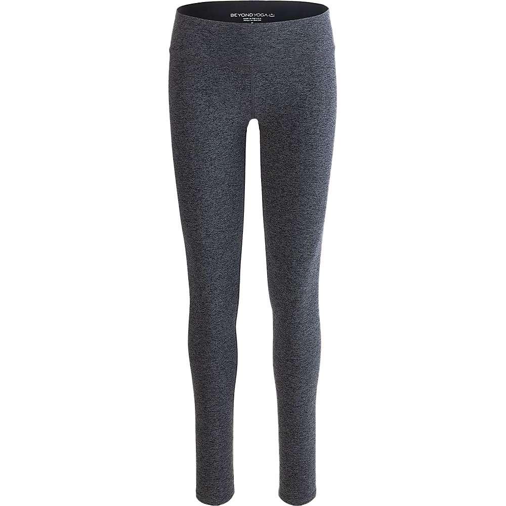 Beyond Yoga Women's Spacedye Essential Long Legging - XL - Black / Charcoal