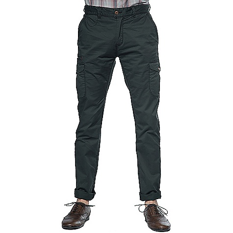 Jeremiah Ellison Peached Twill Cargo Pant
