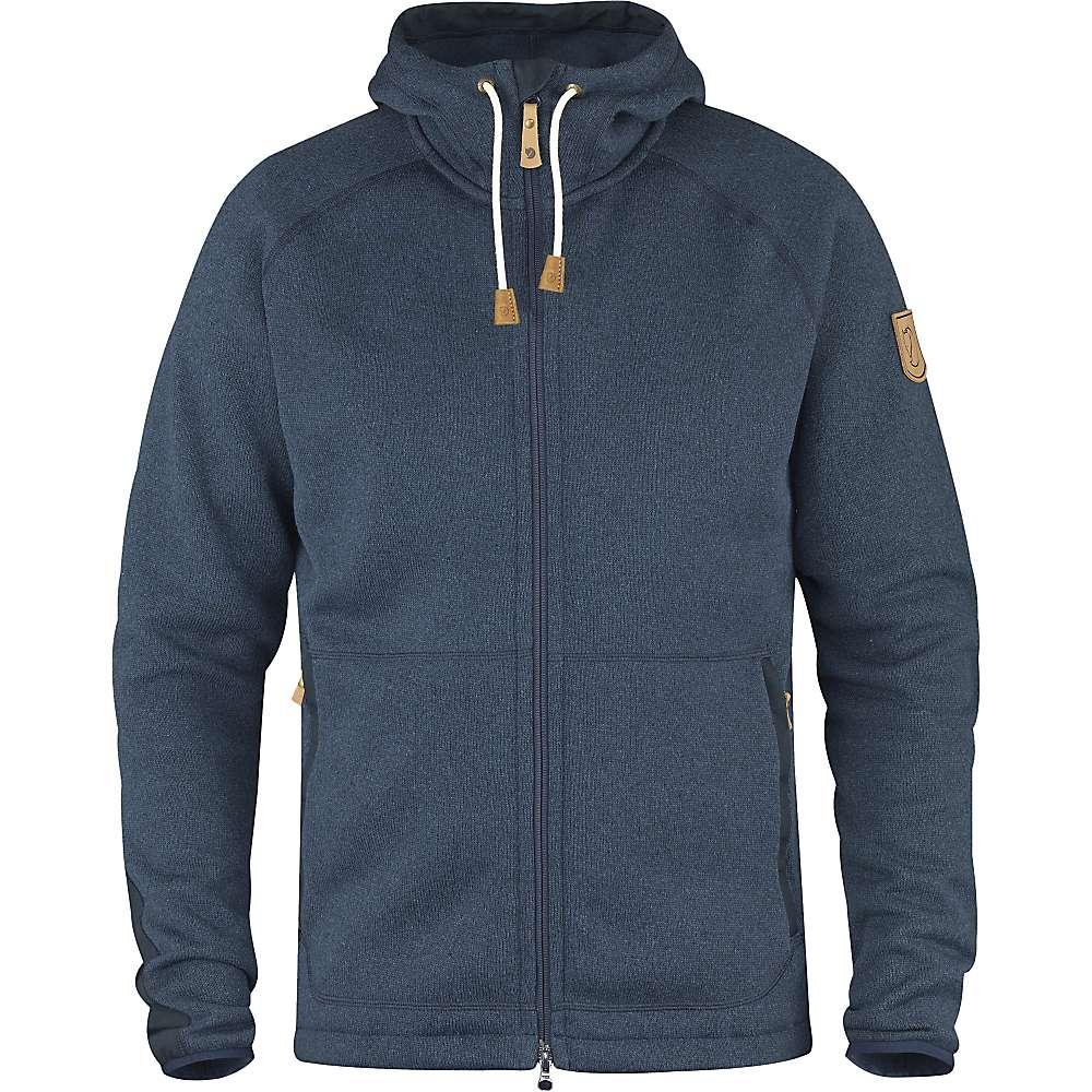 Fjallraven Men's Ovik Fleece Hoodie - XL - Navy