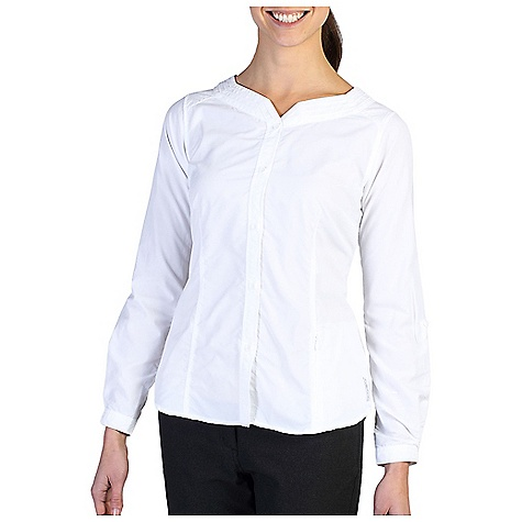 Click here for ExOfficio Womens Dryflylite Blouse LS TOP prices