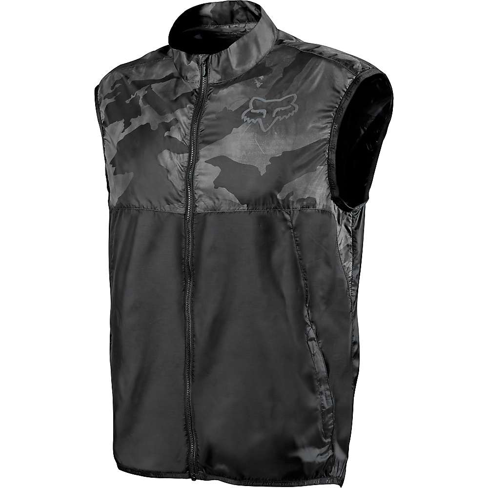 Fox Men's Dawn Patrol Vest – Small – Black Camo