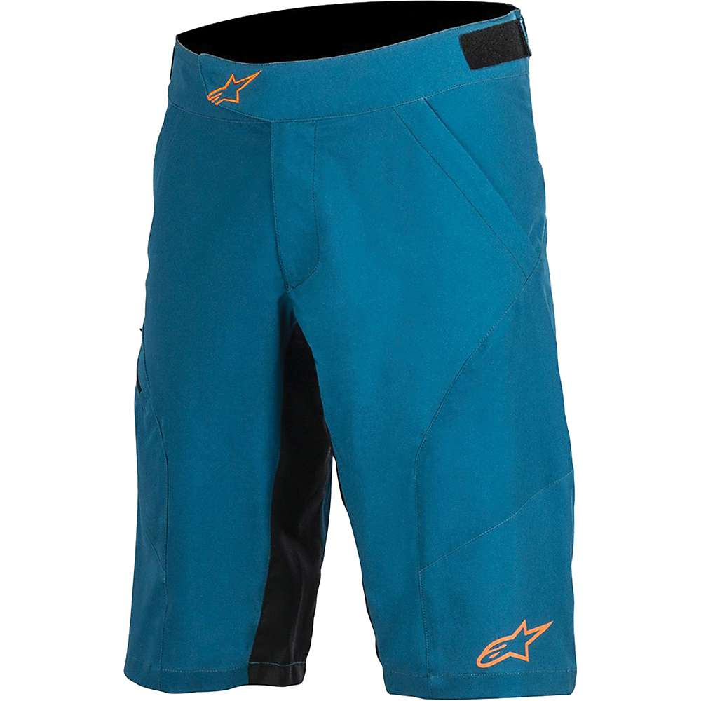 Alpine Stars Men's Hyperlight 2 Short - 30 - Blue / Bright Orange