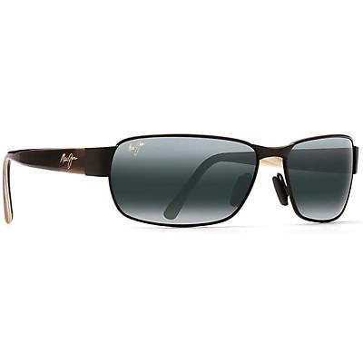 Maui Jim Black Coral Polarized Sunglasses - Matte Black / Neutral Grey